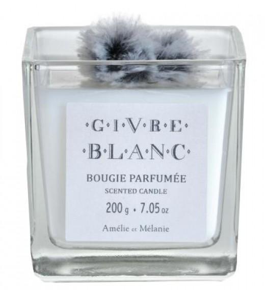 Candela Profumata - Fragranza Givre Blanc