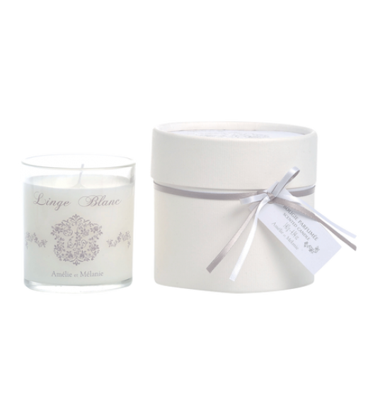 Candela Profumata - Fragranza Linge Blanc