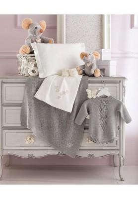 Copertina culla/carrozzina Perla - Linea Delicata - Blumarine Baby