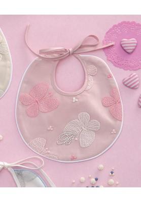 Bavaglino Rosa - Linea Baby Adriel - Blumarine Baby