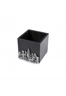 Portapenne  Bronzobianco - Collezione Gotham City