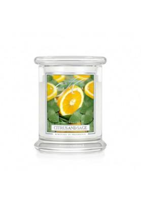 Candela Giara Media  - Fragranza Citrus and Sage