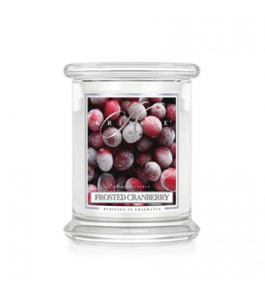 Candela Giara Media  - Fragranza Frosted Cranberry