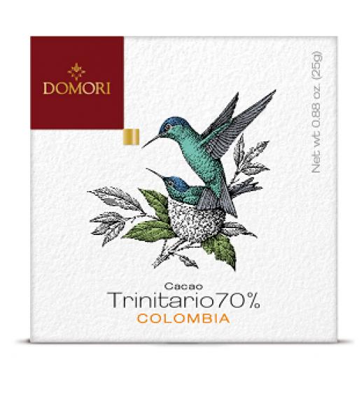 Tavoletta Trinitario Colombia- Linea Domori