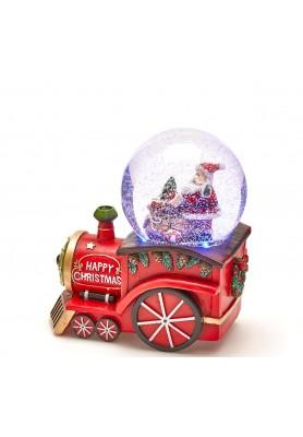 Carillon Locomativa di Babbo Natale - Collezione Toy's Story