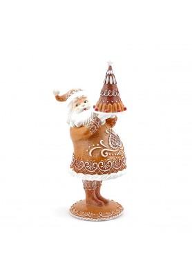 Babbo  Natale con Torta - Collezione Sweet Christmas