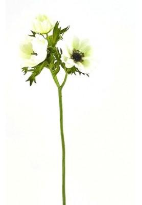 Fiore di Anemone Bianco Artificiale EDG - Linea Flowers