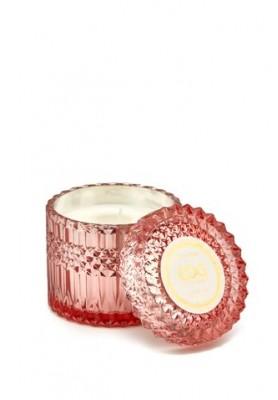 Candela Crystal Profumata - Fragranza Moroccan Rose