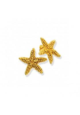 Orecchini Stella Marina Gold - Collezione Marine