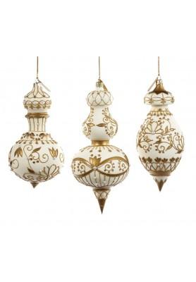 Royal Cupola Ornament - Katherine's Collection - Linea Royal White