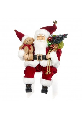 Poseable Santa Doll -  Katherine's Collection - Linea Night Before Christmas