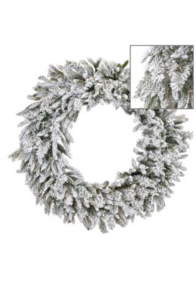 Ghirlanda Pino Innevato - Linea Winter Frost