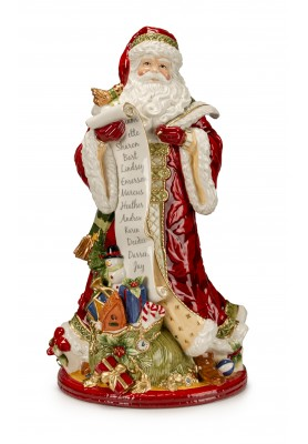 Babbo Natale Holiday Grande - Collezione Holiday Tidings - Fitz and Floyd