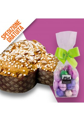 SET4 Colomba Classica Pasquale + Ovetti Assortiti 500gr.