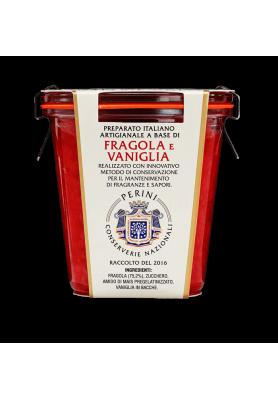 Confettura di Fragola e Vaniglia - Linea Perini Conserverie Nazionali