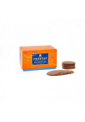 Cialde di Cioccolato al Latte aromatizzate all'Arancia e Neroli - Linea Prestat 1902