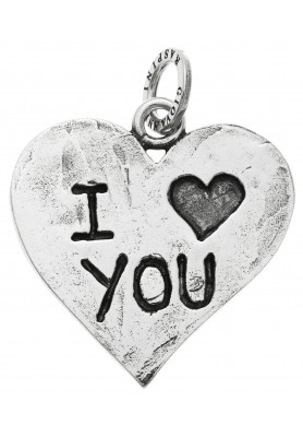 Charm Cuore I Love You- Collezione Big  Charms