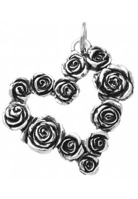 Charm Cuore Rose - Collezione Cuori e Angeli - Giovanni Raspini