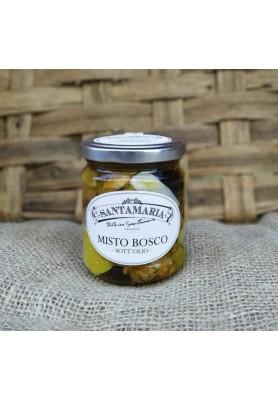 Funghi Misto Bosco Sott'Olio - Linea Santamaria