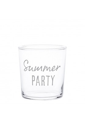 Set 6 Bicchieri acqua decoro Summer Party - Linea Simple Day
