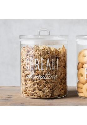 Barattolo decoro Cereali al Mattino - Linea Simple Day
