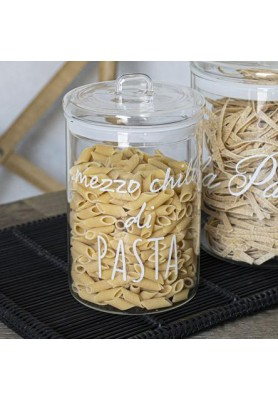 Barattolo decoro Mezzo Chilo di Pasta - Linea Simple Day