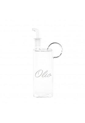 Bottiglia Olio in vetro con  decoro Olio - Linea Simple Day