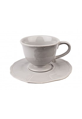 Set Tazza The e Piattino - Linea Corona