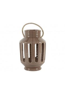 Lanterna Righe Argilla Grande  - Linea Lanterna