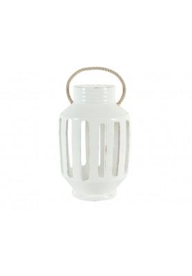 Lanterna Righe Bianca Grande  - Linea Lanterna