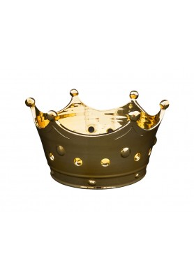 Centrotavola Corona Reale Gold - Linea Regale
