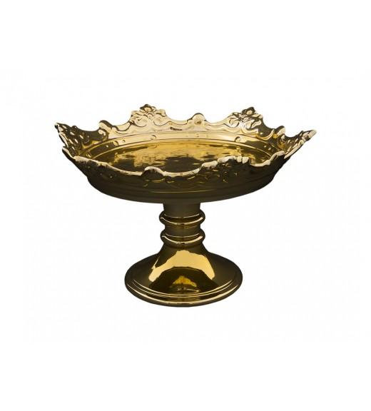 Alzata Corona Reale Gold - Linea Regale